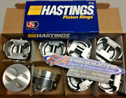 Ford 289 / 302 Engines .020 Over Coated Hypereutectic Pistons + Moly Ring Kit
