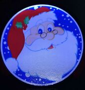 Santa Face Light Up Decal Powerdecal Backlit Led Motion Sensing Auto Decal