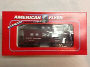 American Flyer Lionel 1991 New Haven Square Window Caboose 48707