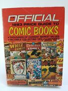 Official 1983 Price Guide To Comic Books First Edition House Of Collectibles