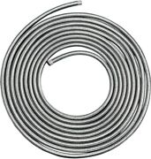 Drag Specialties Motorcycle Stainless Steel Braided Fuel/oil Hose 5/16in X 25ft