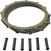 Drag Specialties Friction Plate Kit For 71-84 Harley Sportster Xlh Xlch Xlx Xlt