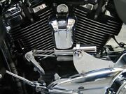 Pingel 77903h Chrome Electric Easy Shift Speed Shifter Kit Harley Touring 17-up