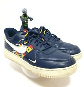 Nike Air Force One Af1 Lv8 Nautical Redux Ar5394 400 Navy Sail Shoes Menand039s Sz 11