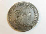 1800 Draped Bust Silver Dollar - 6160