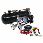 Mpc B1 0419 4 Trumpet Train Air Horn Kit Fits Almost Any Vehicle Truck Car Je...
