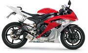 Leo Vince Sbk Carbon Fiber Stainless Steel Exhaust Factory S For Yamaha R6 06-16