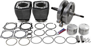 S And S Cycle 96 Sidewinder Kit For 1984-1999 Evolution Big Twin Harley Davidson