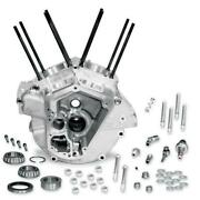 S And S Cycle Super Stock Engine Case Big Bore 3 5/8in Bore Natural 31-0001