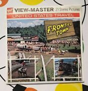 Scarce A680 Frontier Town In The Adirondacks New York View-master Reels Packet