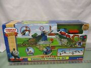 Thomas And Friends Wooden Railway New Deluxe Tidmouth Timber Co. Set Train Toy