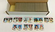 1977 Topps Baseball Card Full Set - High Grade Collectible Sports Trading Cards