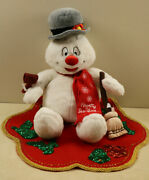 Build A Bear Frosty The Snowman With Lighted Musical Christmas Plush 18 2