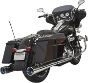 Bassani 4 Dnt Megaphone Mufflers With Acoustically Tuned Baffles 1f57dnt6
