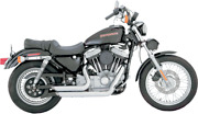 Vance And Hines Chrome Shortshots Staggered Exhaust Harley Sportster Xl 99-03