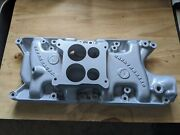 Rare Vintage Offenhauser Offy Intake Hipo Ford Mustang Gt Ho F150 289 302 347