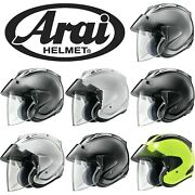 Arai Ram-x 2020 Open Face Solid Motorcycle Helmet - Choose Color And Size
