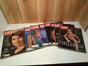 Vintage Lot Of 8 Life Magazines 1960's Jackie Kennedy, Pope Series, Ads, Coke