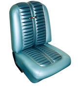 Upholstery 1963 Ford Fairlane 500 H/t Sports Coupe For Front Buckets And Rear