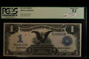 1899 1 Large Silver Certificate Fr 231 Pcgs 53  Great Investment Note
