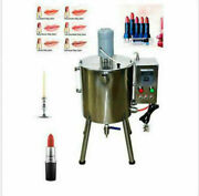 Automatic Lipstick Filler Heat Stirred Tank Candle Cream Liquid Filling Machine