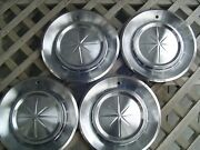 Vintage 1960 60 Lincoln Continental Premier Hubcaps Wheel Covers Ford Mercury