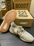 Brand New In The Box Adidas Yeezy Boost 350 V2 Citrin Green Grey Size 11.5