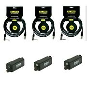 3 Wired Bodypack W/ Vc Knob And 10 Ft Headphone Extension Cable For Aviom Mixer