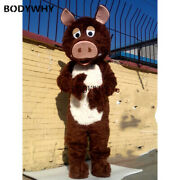 2019 Animal Boar Mascot Costume Suits Cosplay Party Game Dress Outfits Promotion