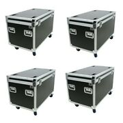 4 Ata Utility Trunk Road Case 45 With Wheels Truck Pack Tour Church