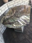 Granite Top Firepit Bar 44andrdquox65andrdquox38andrdquo Never Used- Uses Propane