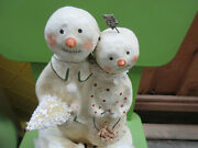 Nicol Sayre Winter Friends Midwest Of Cannon Falls Christmas Box Snowman 2004