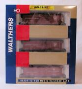 Walthers Gold Line Ho Scale Pennsylvania Express Schemes Box Car 3 Pack 932-9023