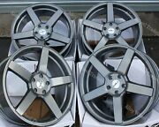 20 Grey Cc-q Alloy Wheels And Tyres Fits Volkswagen Transporter T5 T6 T28 T30