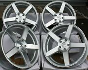 20 Sp Cc-q Alloy Wheels And Tyres Fit Volkswagen Transporter T5 T6 T28 T30 T32