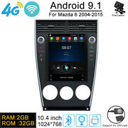 Android 9.1 2+32 4g Car Dvd Player Gps Navi Stereo Radio Video For Mazda 6 04-15
