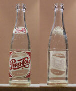 Pepsi Cola Sparkling 8 Ounce Acl Soda Pop Bottle Bottlers Of New York N Y Sb342
