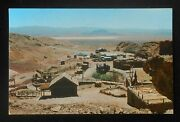 1950s Panorama Of Calico Ghost Town Old Cars Restoration Project Calico Ca Pc
