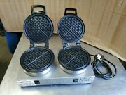 Chefmaster Double Contact Grill Ribbed Top And Smooth Bottom