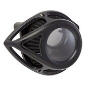 Arlen Ness Black Clear Tear Stage 1 Air Cleaner For Harley Twin Cam Fbw 08-17
