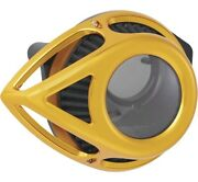 Arlen Ness Gold Clear Tear Stage 1 Air Cleaner For Harley Sportster Xl 91-up