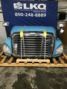 Light Blue 2008 And Up Freightiner Cascadia 125 Hood Assembly A17-12562-001