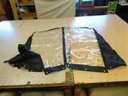 G3 Angler V185 Sf Hard Top Side Curtains Pair Of 2 Black 67 X 47 3/4 Boat