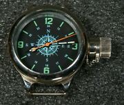 New Old Stock Russian Ussr Divers Watch Zlatoust Vmf Cccp Compass 700m W-te