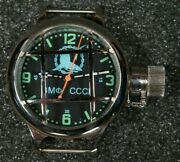 Nos Russian Ussr Divers Watch Zlatoust Vmf Cccpshark In Chains Wheel700m W-te