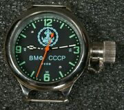 New Old Stock Russian Ussr Divers Watch Zlatoust Vmf Cccp Anchor 700m W-te