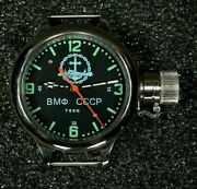 Nos Russian Ussr Divers Watch Zlatoust Vmf Cccp Anchor And Submarine 700m W-te