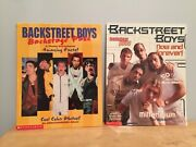 1998 Backstreet Boys Backstage Pass Scholastic Now And Forever Photo Book Set