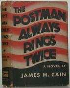 James M Cain / The Postman Always Rings Twice First Edition 1934 106981