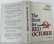 Tom Clancy / The Hunt For Red October First Edition 1984 1412624